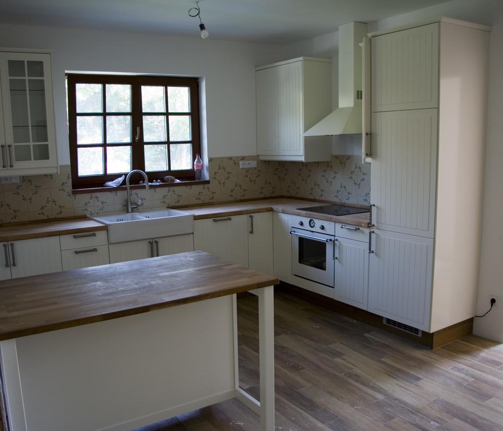 Cuisine ikea ringhult blanc brillant: p photos de vos cuisines ...